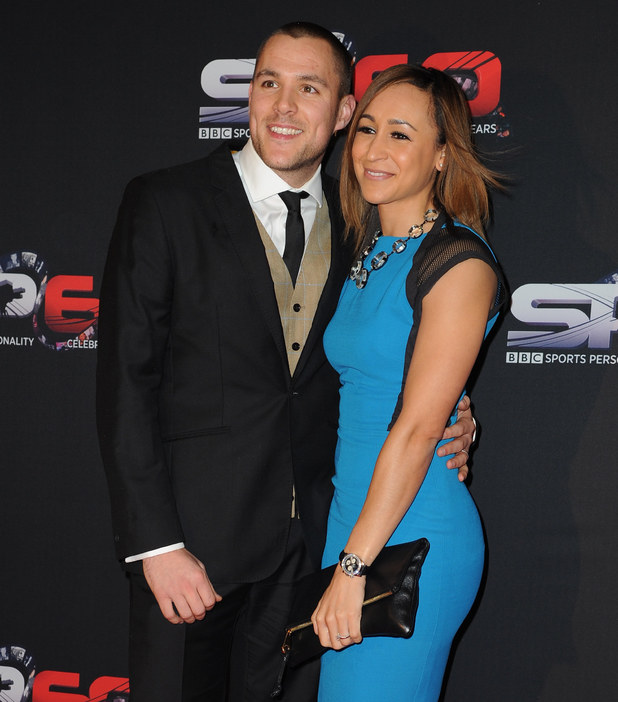 BBC Sports Personality Of The Year 2013 held at the First Direct Arena - Arrivals Jessica Ennis-Hill, Andy Hill