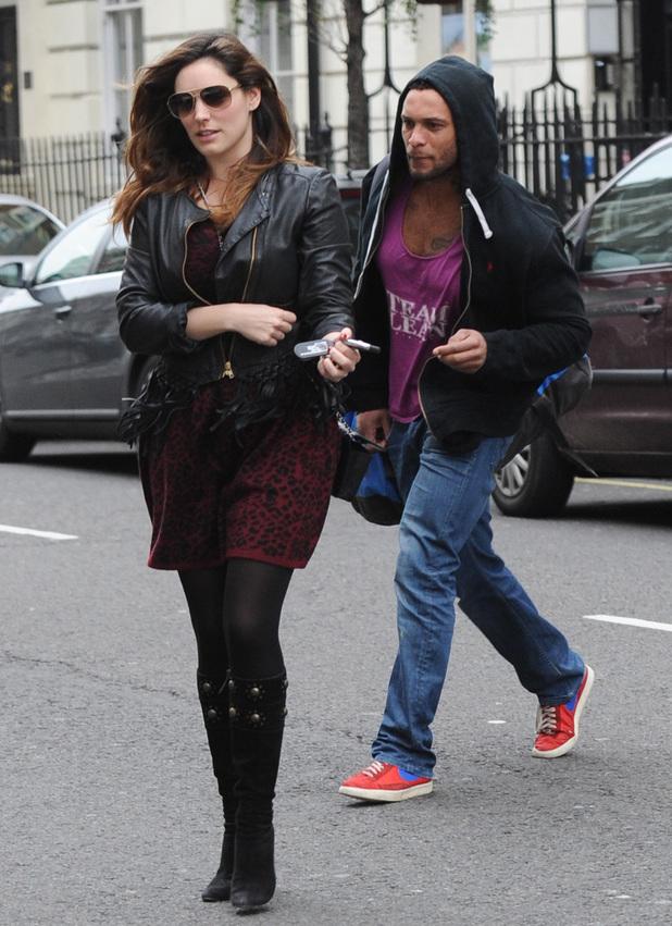 Kelly Brook leaves her home with rumored new boyfriend David McIntosh - 5.1.2014