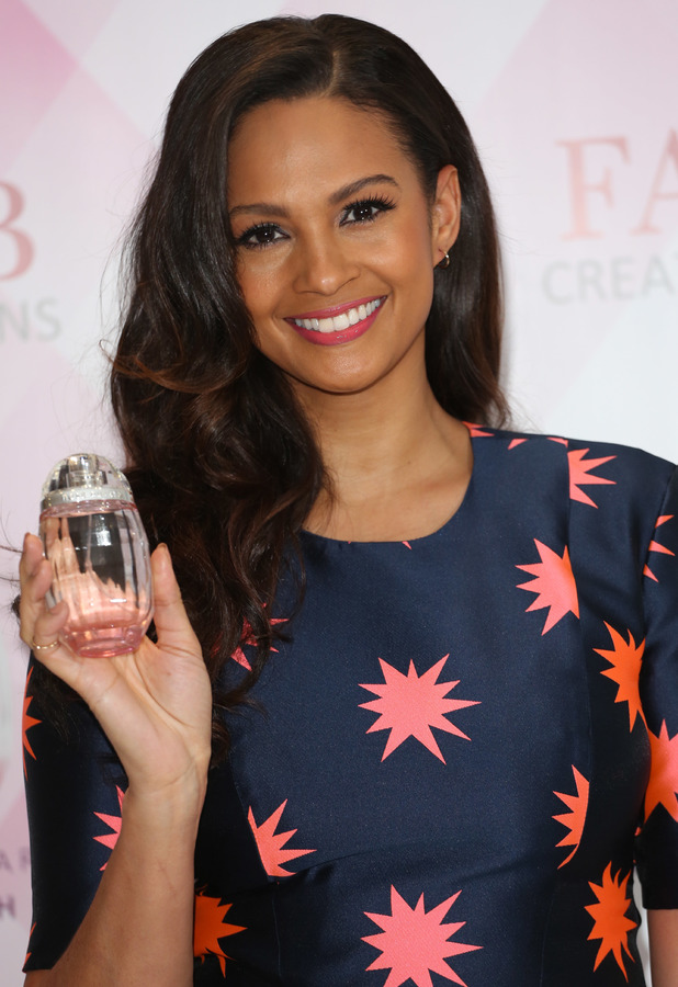 Alesha Dixon launches her first fragrance 'Alesha Rose Quartz' at The Studios, St Martins Lane Hotel, London - 8 January 2014