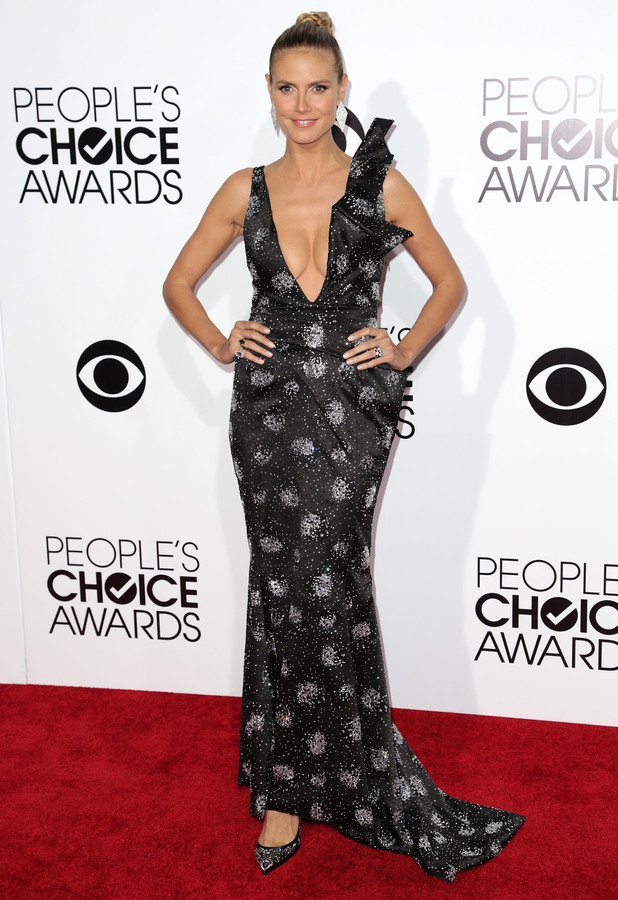 Heidi Klum at People's Choice Awards in Los Angeles, 8 January 2014