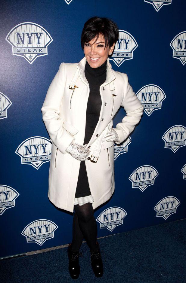 NYY Steak Manhattan's Grand Opening, New York, America - 09 Jan 2014 Kris Jenner