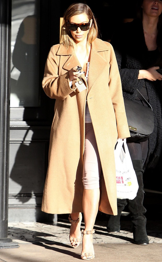 Kim Kardashian out and about, Los Angeles, America - 05 Jan 2014