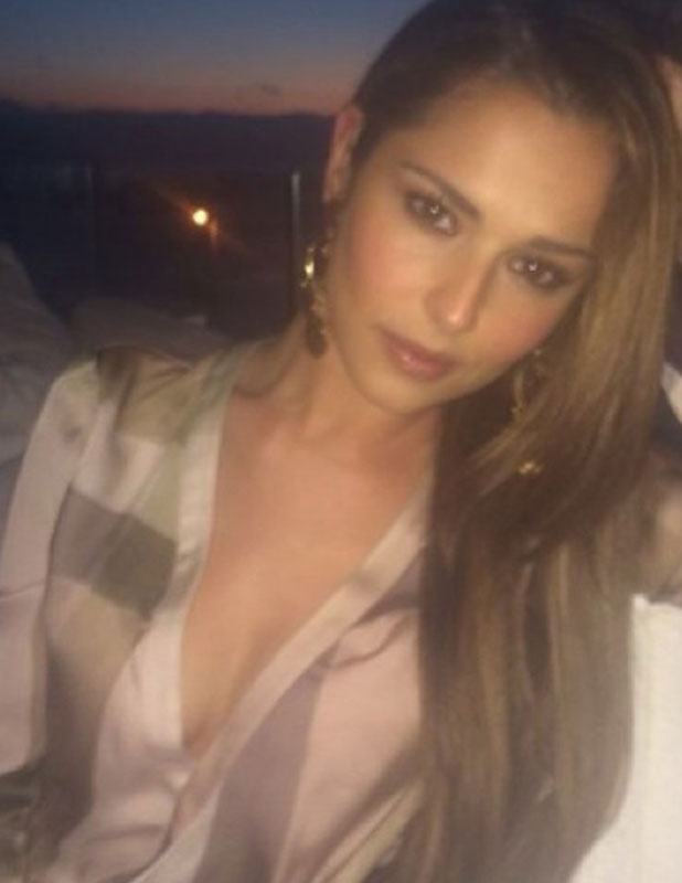 Cheryl Cole shares picture from her holiday to South Africa, January 2014