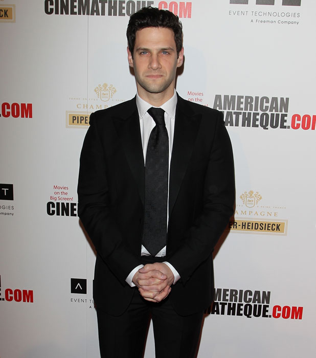 Justin Bartha, The 27th American Cinematheque Award honouring Jerry Bruckheimer at The Beverly Hilton Hotel in Beverly Hills, 13 December 2013