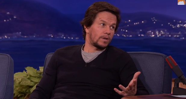 Mark Wahlberg appears on Conan, TBS, 9 January 2014