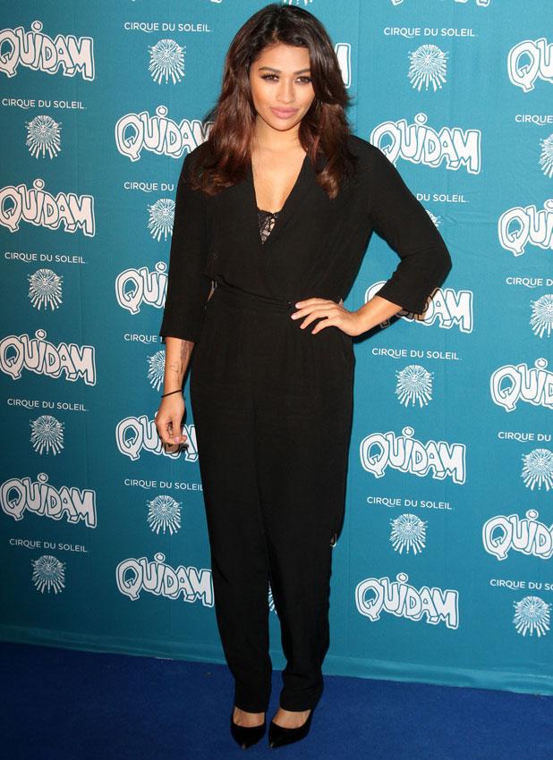 Vanessa White at Cirque du Soleil: Quidam opening night, Royal Albert Hall, London, 7 January 2013