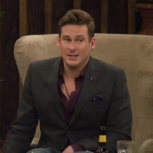 Celebrity Big Brother - Lee Ryan calls fellow housemate Casey Batchelor a game player. (15 January 2014).