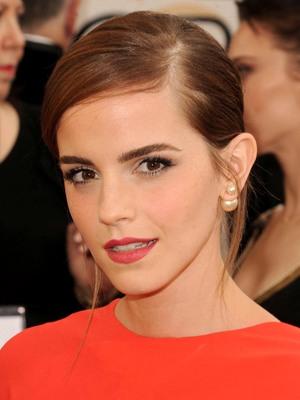 Emma Watson, 71st Annual Golden Globe Awards, Arrivals, Los Angeles, America - 12 Jan 2014