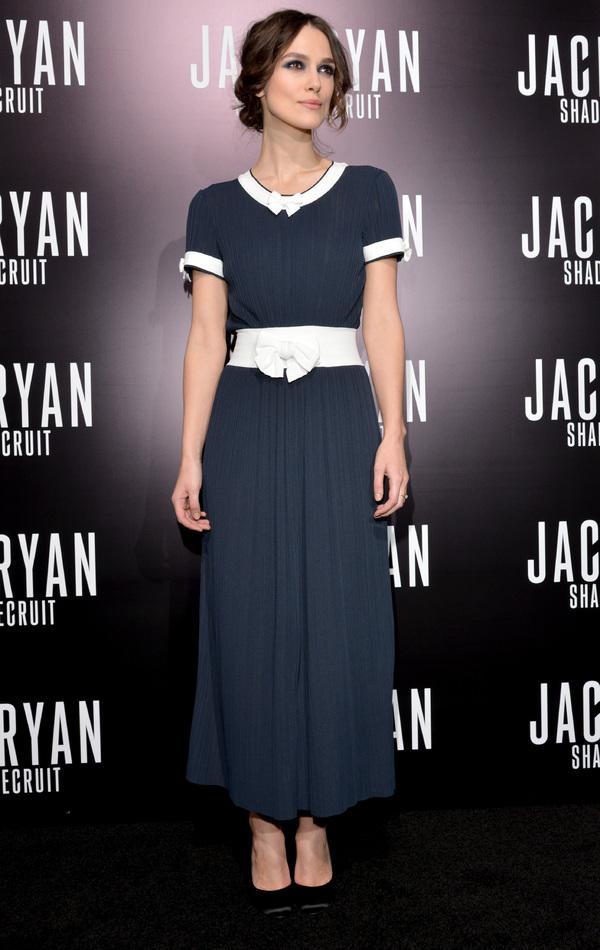 Keira Knightley at Jack Ryan: Shadow Recruit premiere -  January 15th 2014, LA