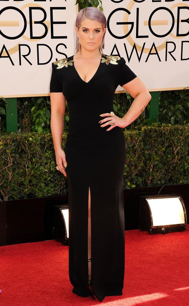 Kelly Osbourne, 71st Annual Golden Globe Awards, Arrivals, Los Angeles, America - 12 Jan 2014