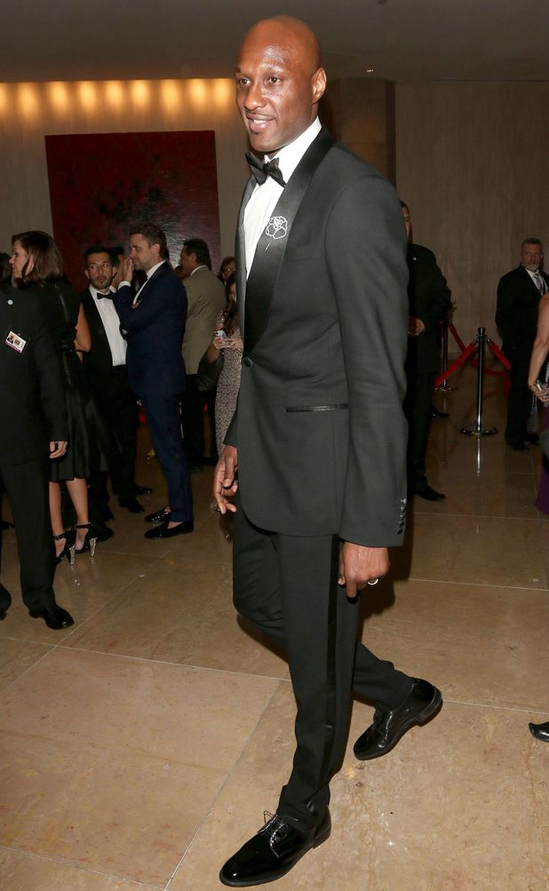 71st Annual Golden Globe Awards, The Weinstein Company and Netflix After Party, Los Angeles, America - 12 Jan 2014 Lamar Odom