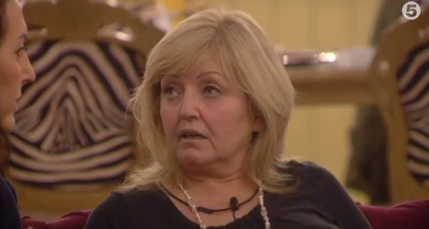 Celebrity Big Brother - Linda Nolan speaks to Liz Jones about her fallout with Jim. (17 January 2014).