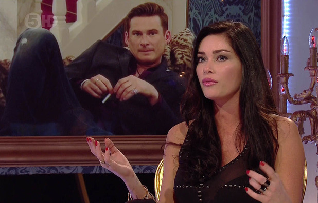 Jasmine Waltz is voted out of the hosue during 'Celebrity Big Brother Live Eviction', shown on Channel 5 HD - 15 Jan 2014