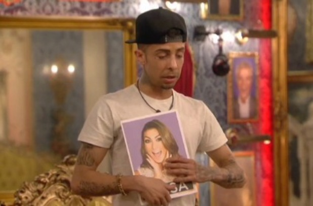 Dappy votes for Luisa Zissman in face to face nominations - 13 January 2014