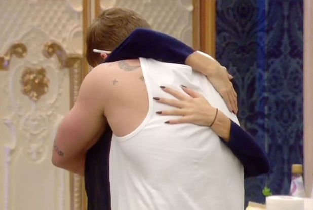 Casey Batchelor and Lee Ryan clear the air - 'Celebrity Big Brother' TV show, Elstree Studios, Hertfordshire, Britain - 17 Jan 2014