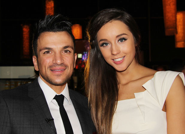 Peter Andre and his girlfriend in Malta to attend the 2013 Malta Music Awards, February 2013