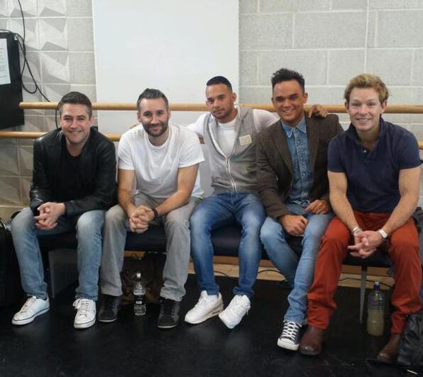 Big Reunion 2014 - first group rehearsals - 5th Story