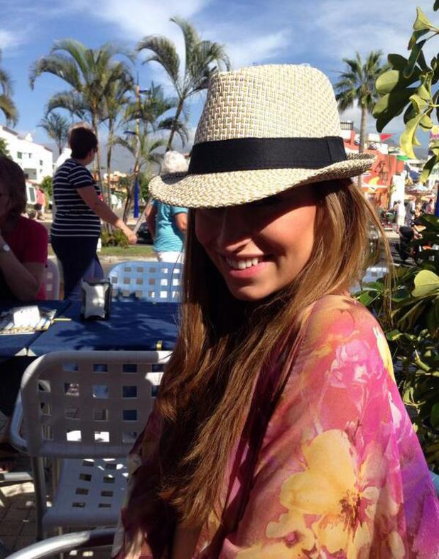 Ferne McCann goes on girly holiday with friend - January 2014