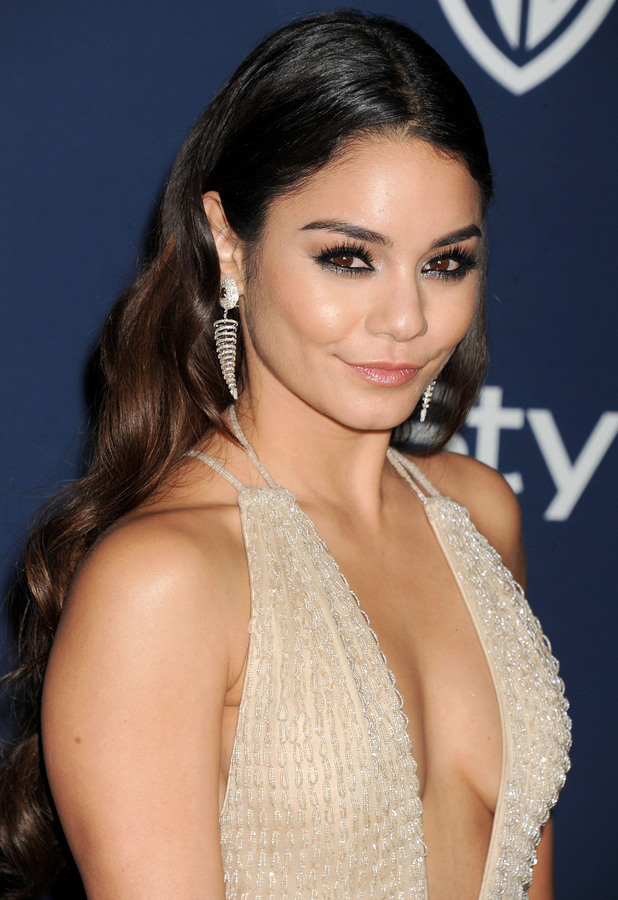 Vanessa Hudgens - 71st Annual Golden Globe Awards, Warner Bros and InStyle After Party, Los Angeles, America - 12 Jan 2014