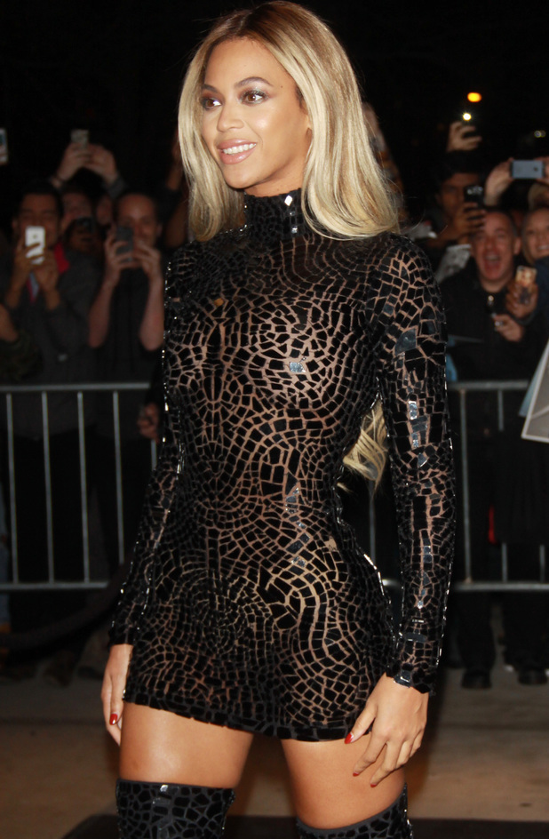 Beyonce Knowles at the screening of Beyonce' & 'Life is But a Dream at the School of Visual Arts Theate in New York City. 12/22/2013.