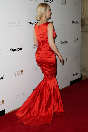 Holly Madison at Panda! World Premiere Event at The Venetian - The Palazzo Las Vegas, 11 January 2014
