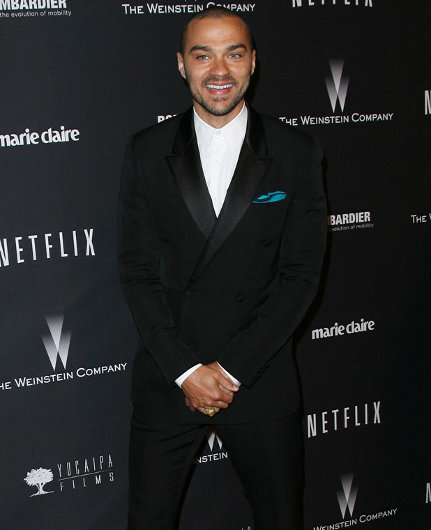 Jesse Williams, The Weinstein Company & Netflix 2014 Golden Globes After Party held at The Beverly Hilton Hotel in Los Angeles, CA. 12th January 2013.