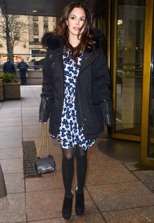 Rachel Bilson at Sirius XM radio, New York, America - 13 Jan 2014
