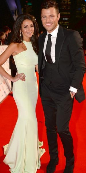Michelle Keegan and Mark Wright National Television Awards, The O2, London, Britain - 22 Jan 2014
