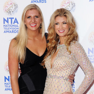 National Television Awards, The O2, London, Britain - 22 Jan 2014 Rebecca Adlington and Amy Willerton