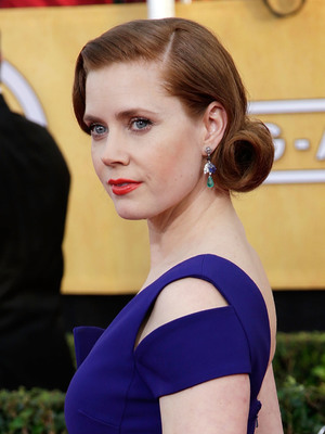 Amy Adams, The 20th Annual Screen Actors Guild (SAG) Awards held at The Shrine Auditorium - Arrivals, 18 January 2014