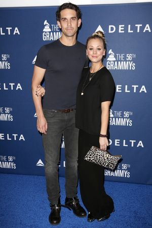 Delta Airlines Pre Grammy Party, Los Angeles, America - 23 Jan 2014 Kaley Cuoco, Ryan Sweeting
