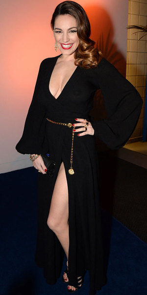 Kelly Brook at the National Television Awards, 22 January 2014