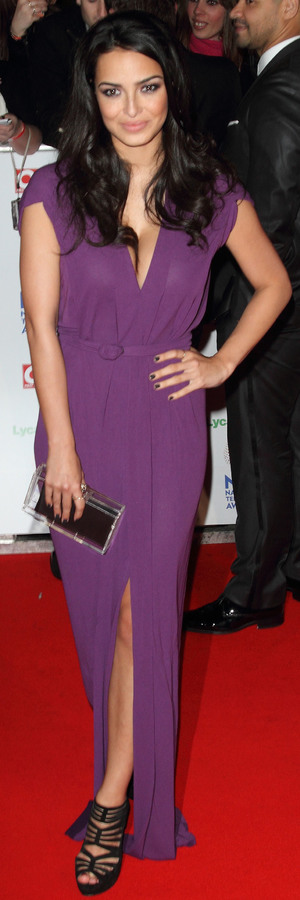 Hollyoaks star Anna Shaffer at the National Television Awards, held at The 02 Arena in London - 22 January 2014