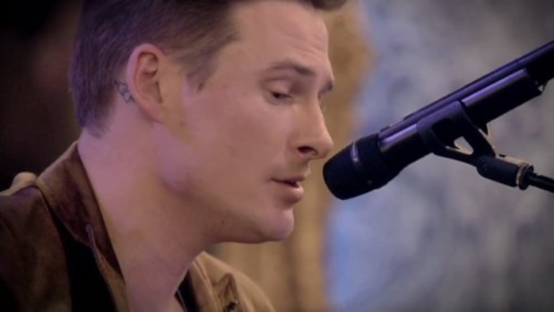 Blue's Lee Ryan performs in Celebrity Big Brother task - 20 January 2014