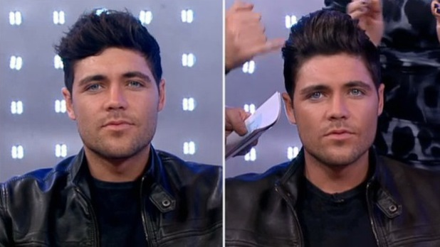 TOWIE's Tom Pearce volunteered to get some extensions in their hair on ITV's This Morning on Wednesday (22 January).