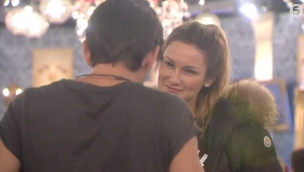 Ollie Locke talks to Sam Faiers about comments she made in the Diary room. (21 January 2014).