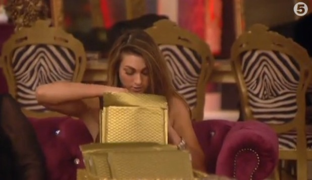 Celebrity Big Brother - Luisa Sizzman is banned from voting during the face-to-face nominations.