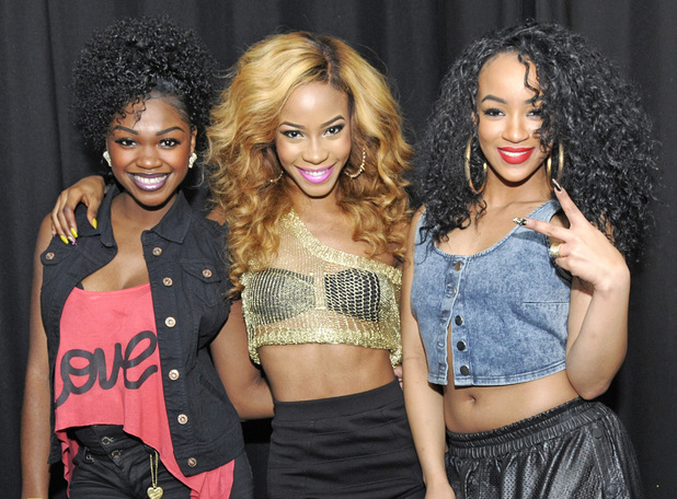 Rielle Carrington, SeSe Foster, Jeanette Akua of Miss Dynamix perform live at London's G-A-Y October 2013.