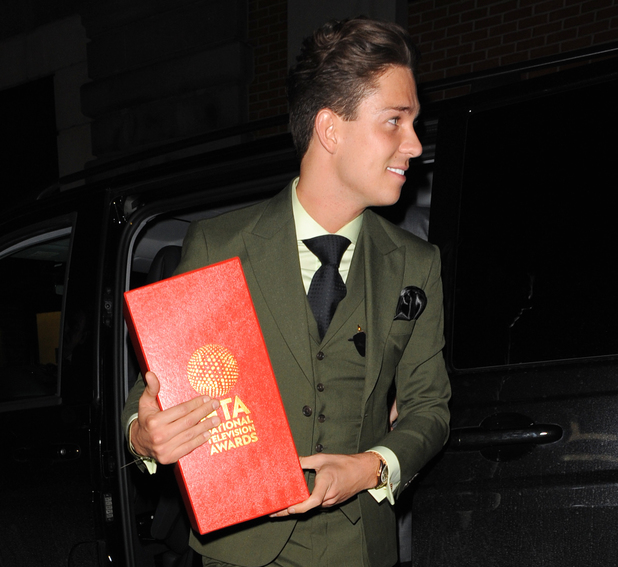 Joey Essex - National Television Awards afterparty at Libertine - Departures 01/22/2014. London, United Kingdom.