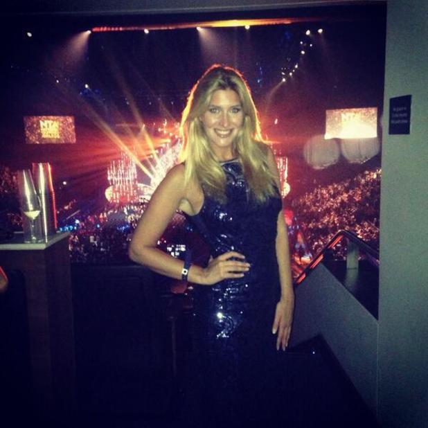 Cheska Hull at the National Telelvision Awards in London - 23.1.2014