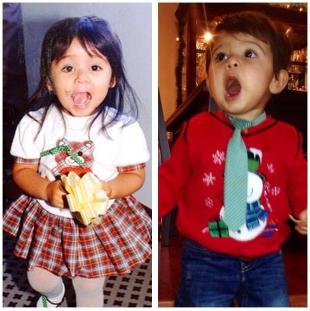 Jersey Shore's Nicole Polizzi - Snooki - shares throwback picture of herself and a picture of her son Lorenzo - 21 January 2013