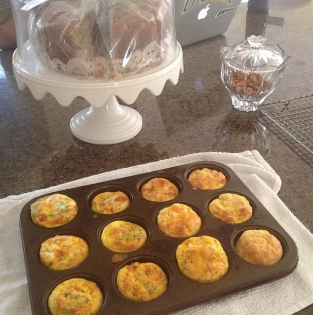 Nadine Coyle posts photo of baking - 20.1.2014
