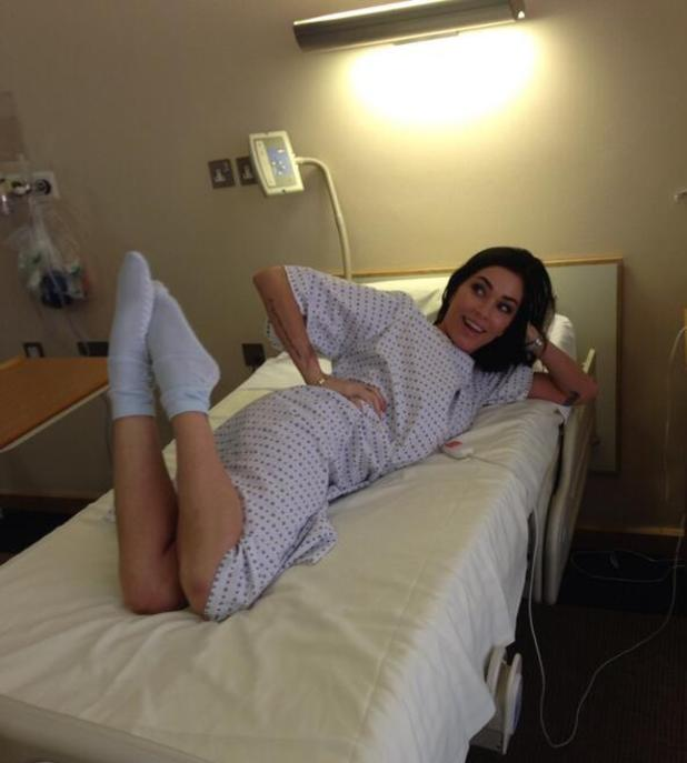 Jasmine Waltz heads to hospital for surgery on her back - 22.1.2014