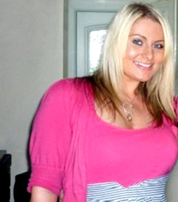 Cyndi Powell, I couldn't go back to work looking nine months pregnant