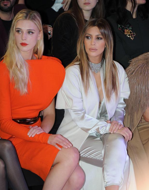 Stephane Rolland Haute Couture Show, Paris Fashion Week, France - 21 Jan 2014 Kim Kardashian