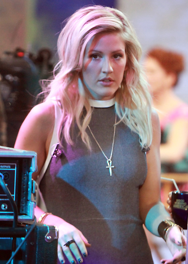 Ellie Goulding appears on ABC's 'Good Morning America', 22 January 2014