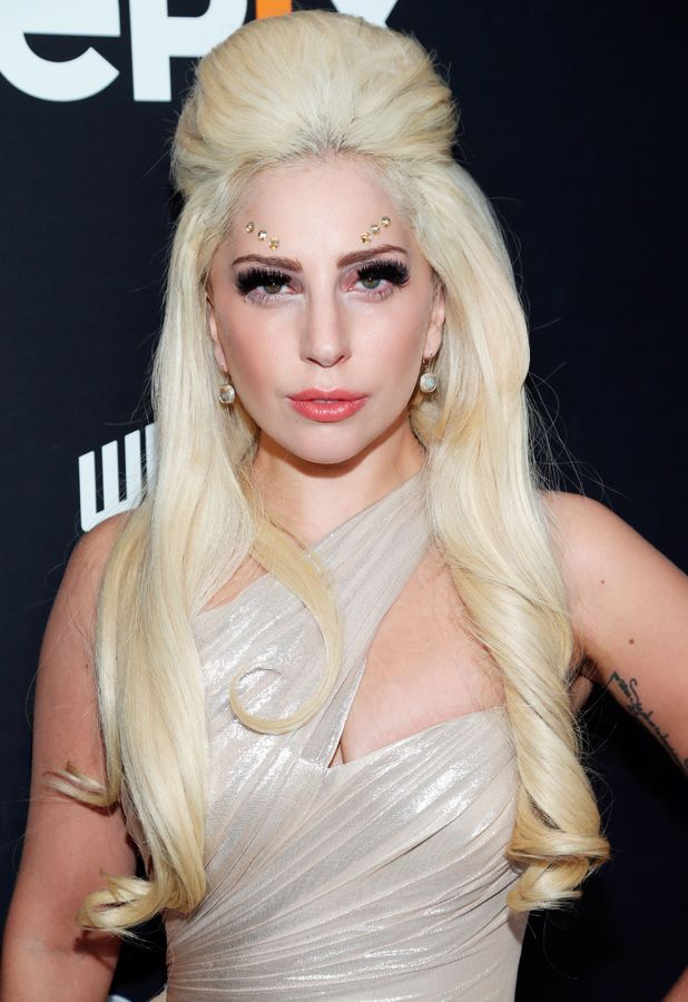 Lady Gaga at the Who The F*** is Arthur Fogel? film premiere in Los Angeles, America - 23 January 2014