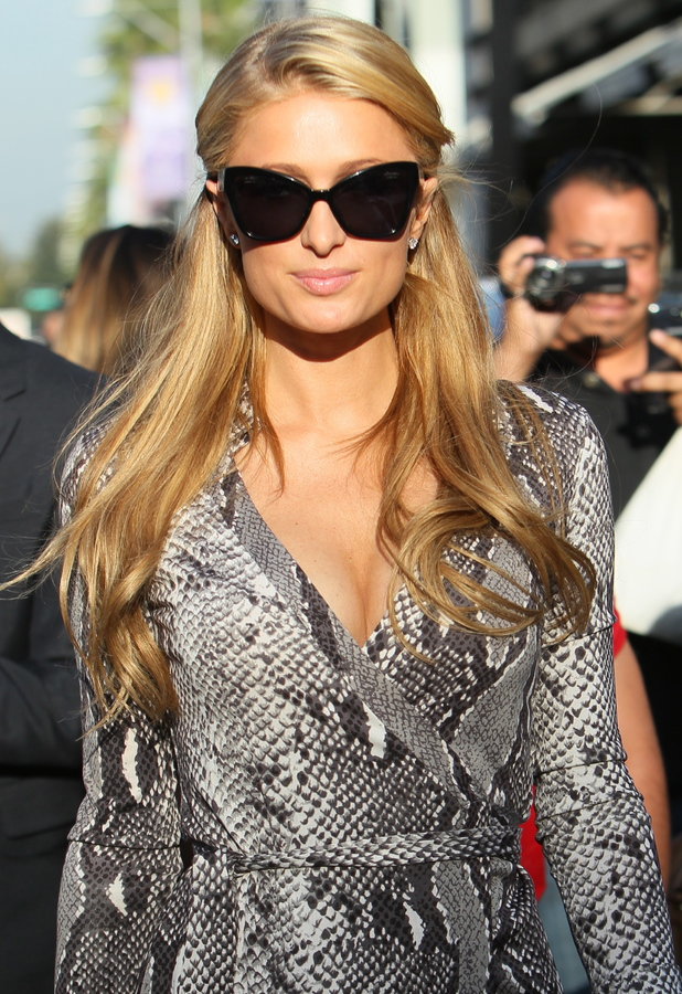 Paris Hilton out in Los Angeles, 22 January 2014