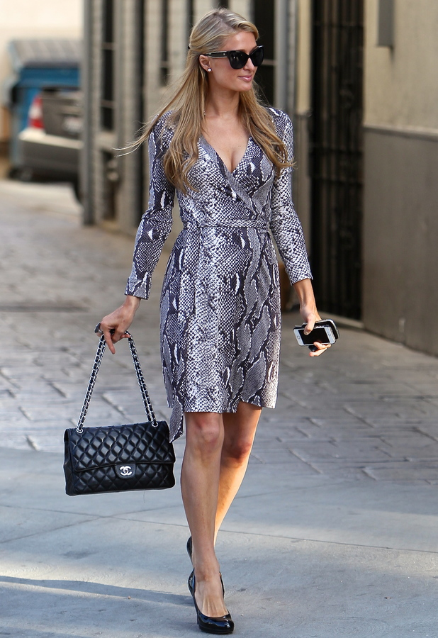 Paris Hilton out in Los Angeles - 22 January 2014