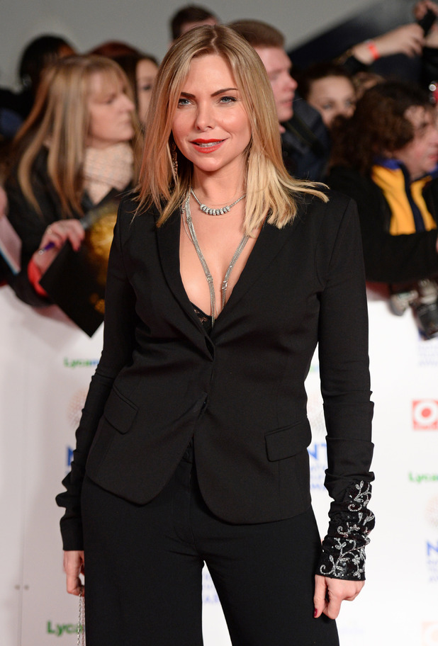 Samantha Womack at the National Television Awards in London - 22.1.2014